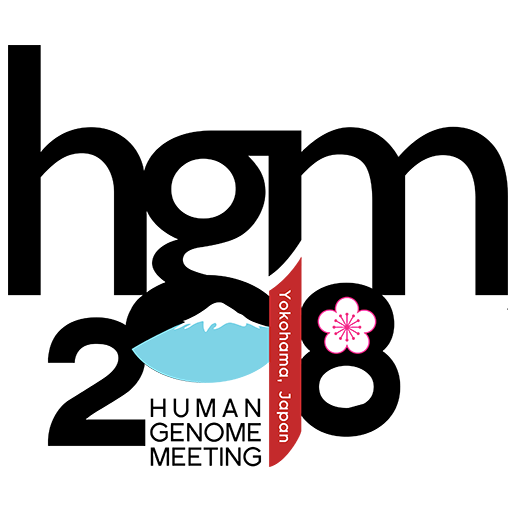 Logo for the Human Genome Meeting 2018